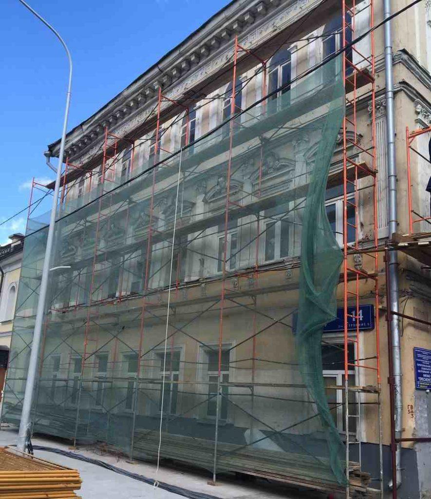 Декоративные фасадные работы и реставрация фасада